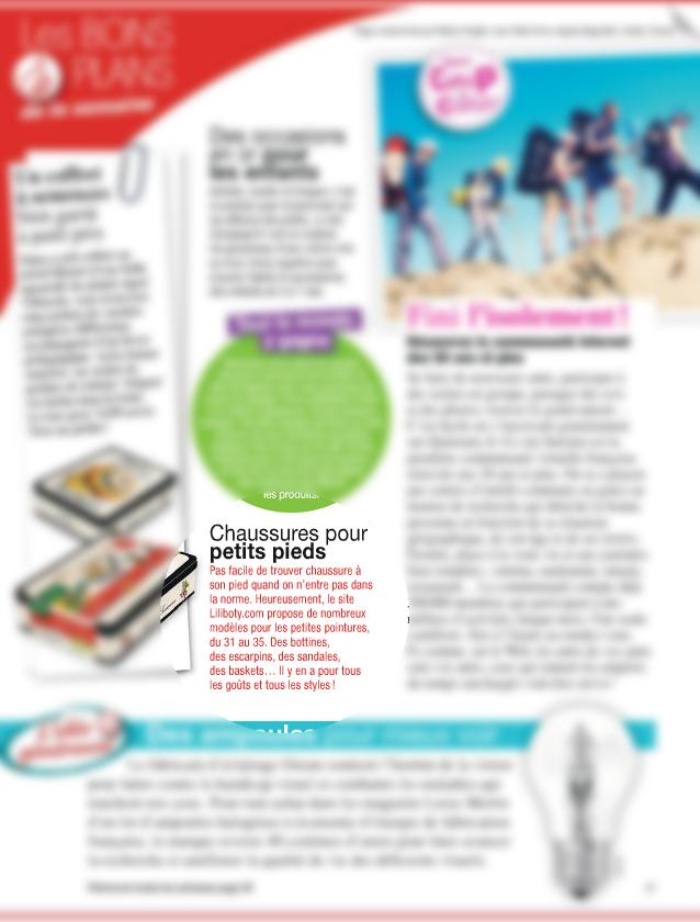 Magazine Nous deux Février 2015
