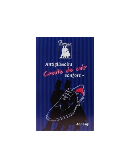 Antiglissoirs en croute de cuir