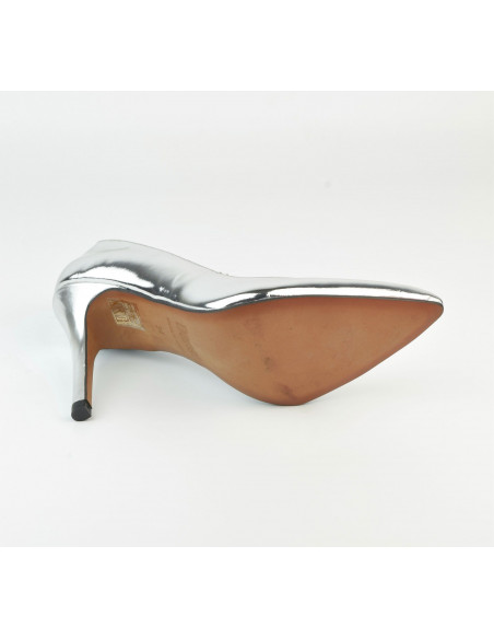 Escarpins cuir Agent Miroir 1560 Dansi, petite taille - Vue semelle extérieur