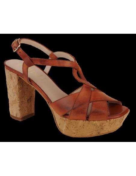 Chaussure femme petite pointure, vue avant