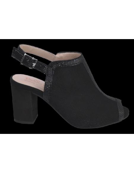 chaussure femme petite taille, vue profil