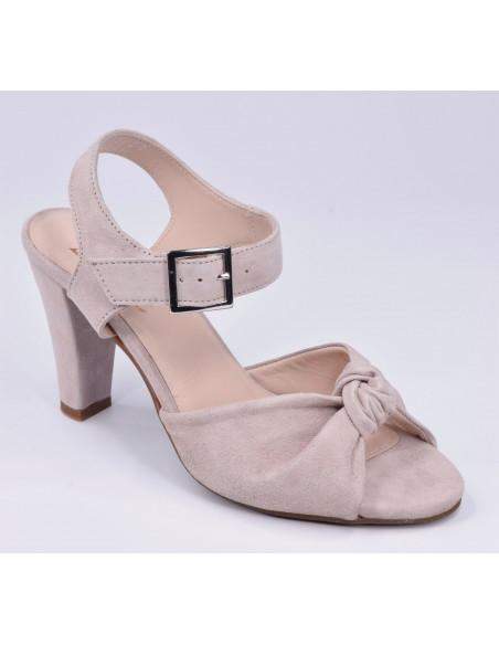 chaussure petite pointure, sandale beige, bella b