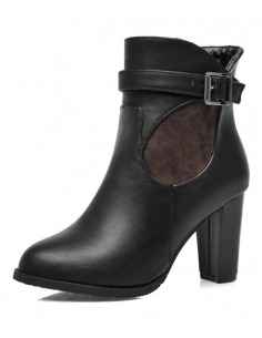 Women's Iris black ankle boots