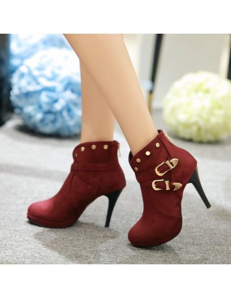 """Calappa"" black boots"