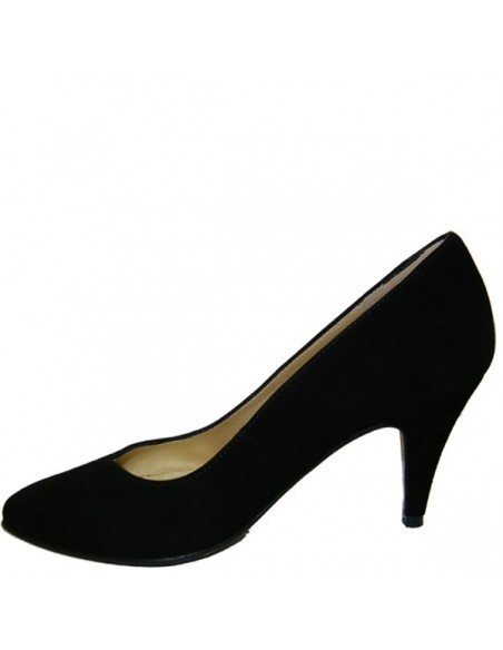 Escarpins noirs cuir