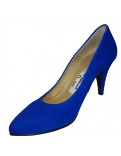 Escarpins bleu saphir