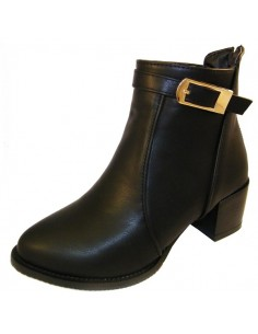 "Bottines noires ""Nardo"""