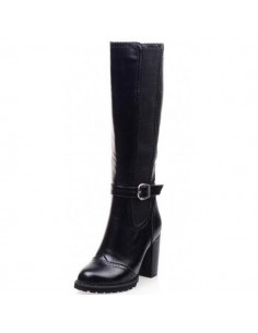 """Neottia"" black boots for women"