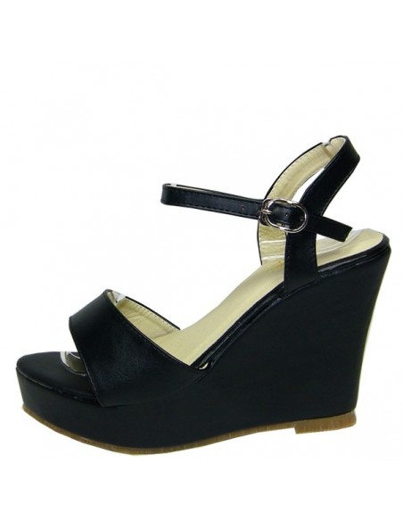 "Black ""Ramondia"" sandals"