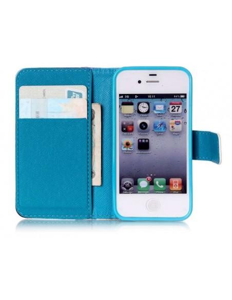 Funda billetera DreamCatcher para iPhone 4S