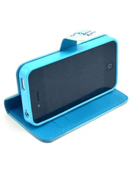Etui portefeuille Iphone 4S DreamCatcher