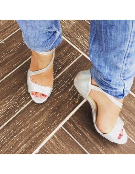 Sandales SalsaArgent
