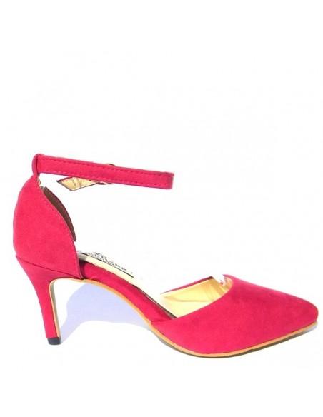 """""""Elletaria"""" red pumps"""