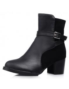"""Black """"Cactus"""" boots"""