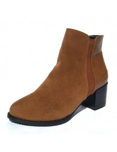 Bottines Colchique Fauve