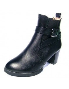 Bottines Rafflesia Noir