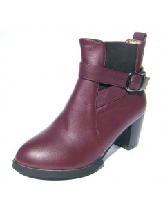 Bottines Rafflesia Bordeaux