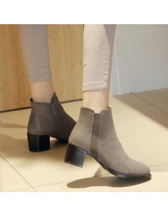 Bottines Colchique Gris