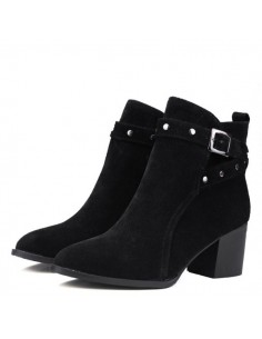 Bottines noires Palma