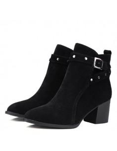 Palma black boots