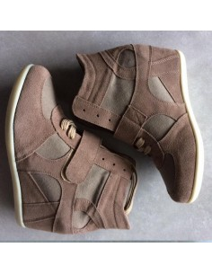 Wedge sneakers Anémone Chataigne