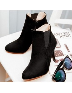 Bottines noires Actaea