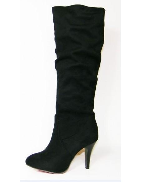 Bottes noires Amarantine pour femme en petite pointure