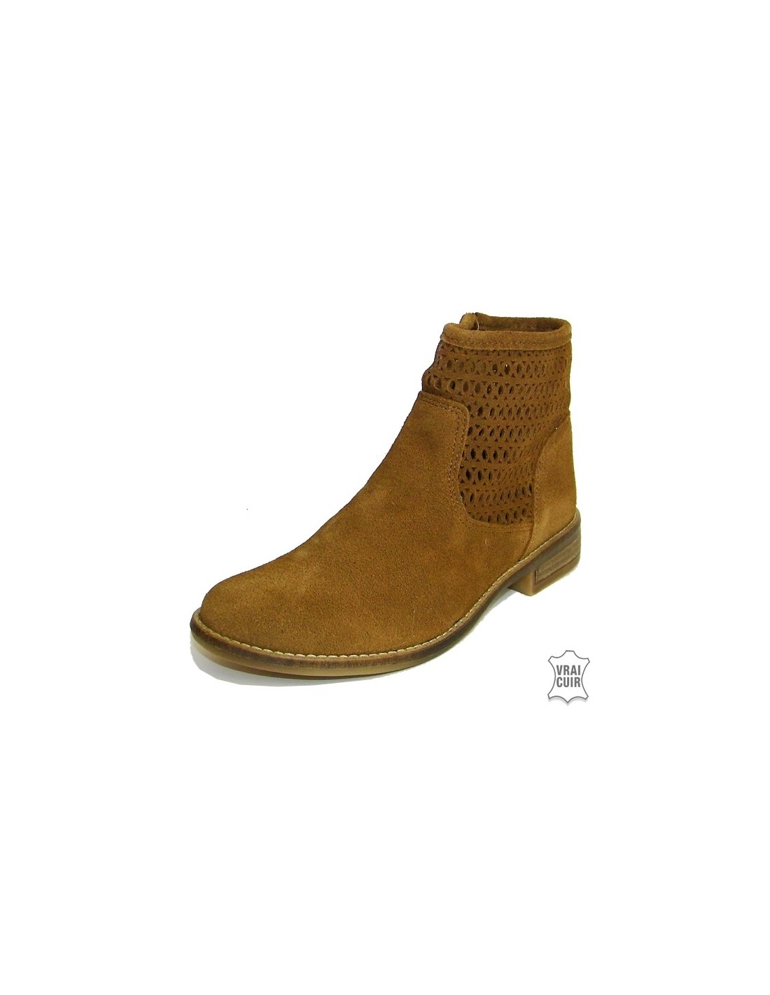 Boots en Cuir Camel Bellamy jjOzBf