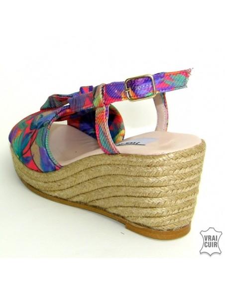 Sandales tropical Lillo