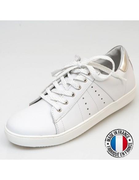 Tennis blancs, Jura cuir, stan smith, fille femme