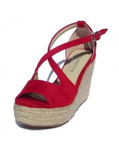 Sandales Mollys rouge