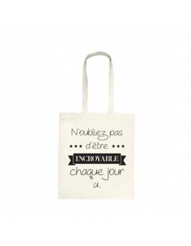 """Tote bag """"Incroyable"""""""