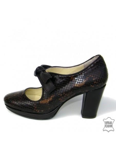 Women small size pumps, heeled derbies size 32 33 34 35
