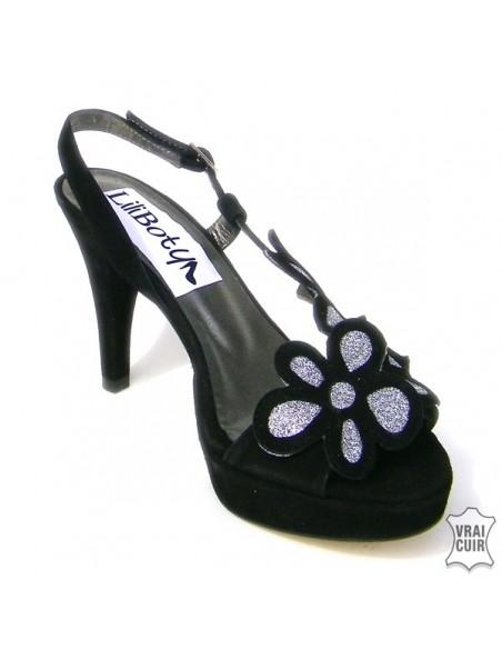 Sandalias elegantes, los zapatos de salón más bonitos, zapatos bonitos para mujer, talla 35