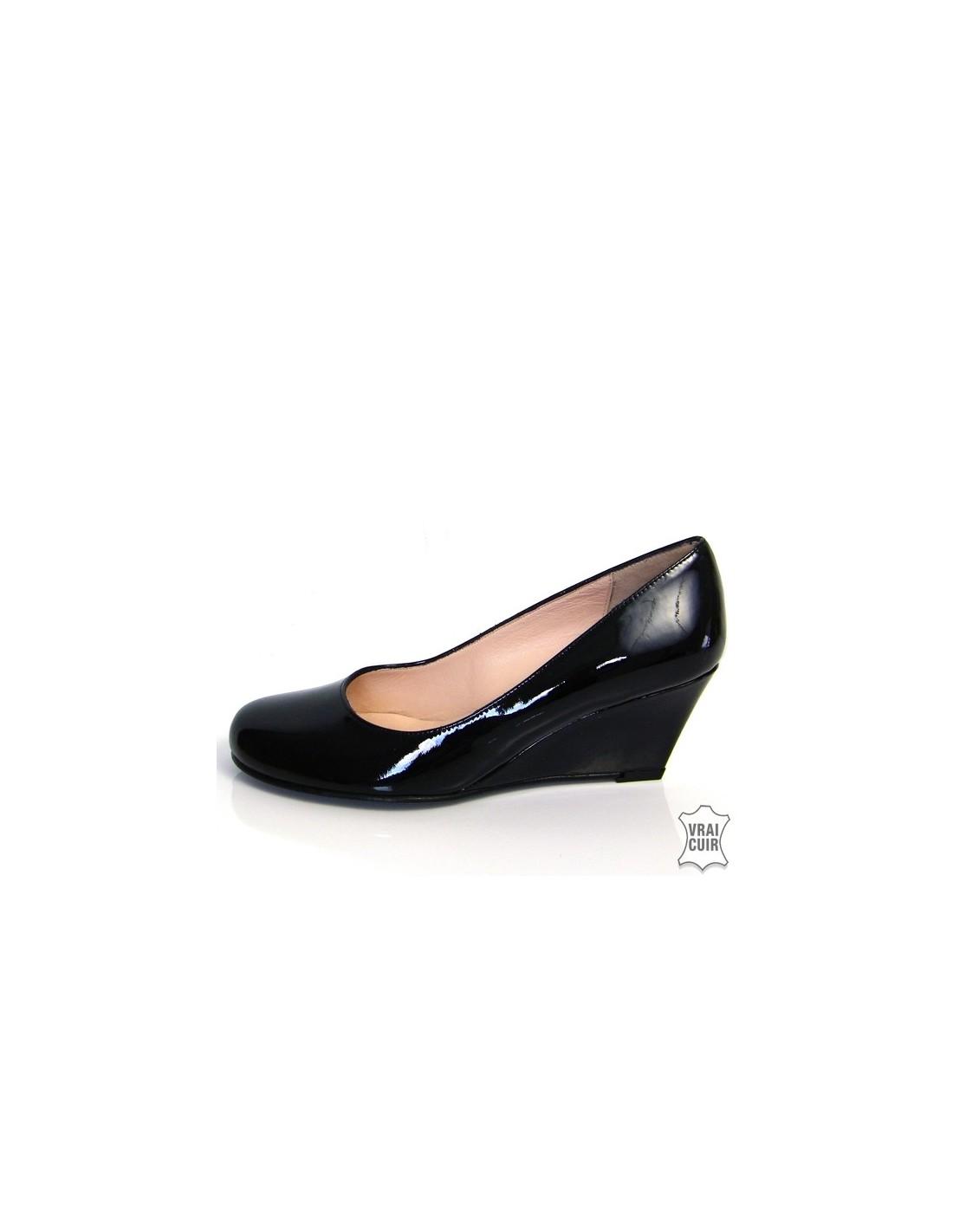 3922fe1ed81a87 chaussures femme petite pointure Escarpins à talons compensés vernis 4179