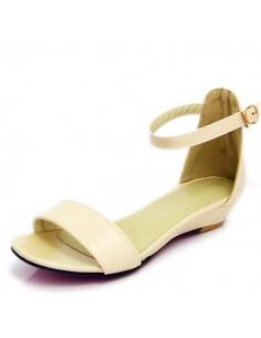 Sandales à talons compensés petite pointure femme