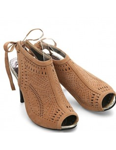 """Sandales à talons hauts """"Aria"""" beige"""