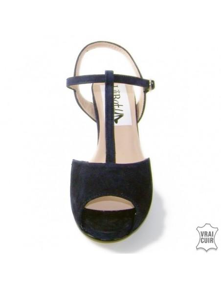 "Sandales bleu marine ""Veronica"""