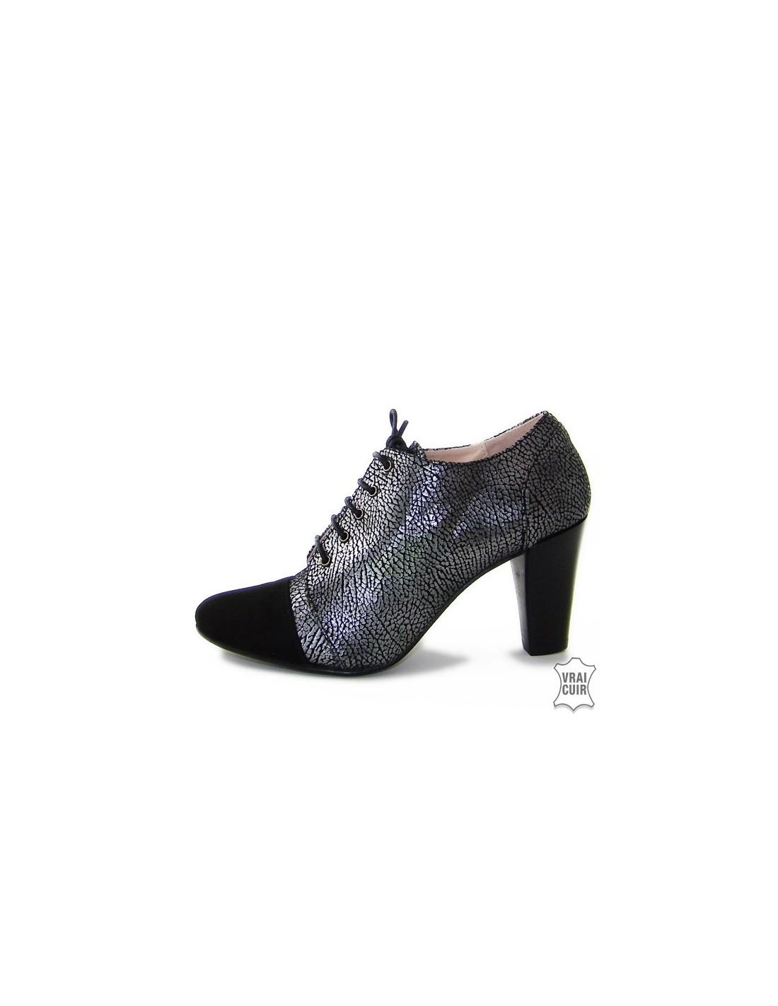 acheter pas cher f3f96 f517d Chaussures petites pointures femmes, derbies à talons 32 à 35