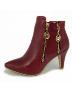 Botas rojas para mujer talla pequeña 32 33 34