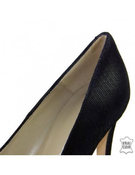 "Escarpins noirs ""F1677"" petite pointure femme brenda zaro"