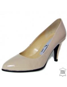 """Nves pumps """"1301CharolTrueCamel"""" yves de beaumond small sizes 34 women"""