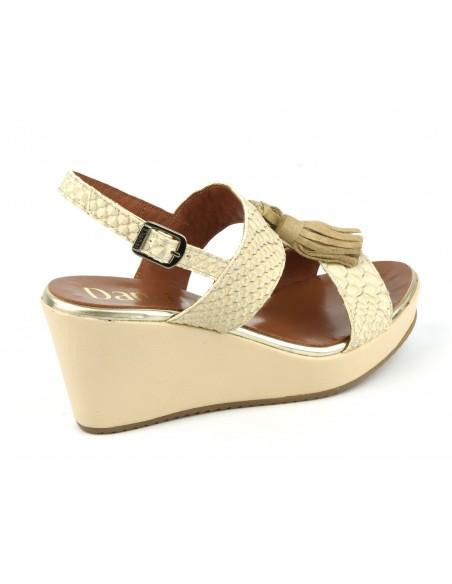 Sandales Compensées Beige Compensées Beige Sandales Nude5225Dansi Beige Nude5225Dansi Cuir Cuir Cuir Compensées Sandales 9EDWH2I