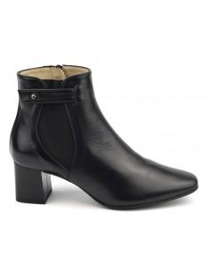 Bottines cuir lisse, femme, petits pieds, F2344, Brenda Zaro